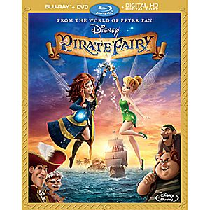 The Pirate Fairy Blu-ray Combo Pack with FREE Lithograph Set Offer - Pre-Order