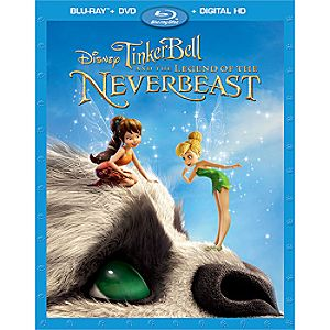 Tinker Bell and the Legend of the NeverBeast Blu-ray Combo Pack with FREE Lithograph Set Offer - Pre-Order