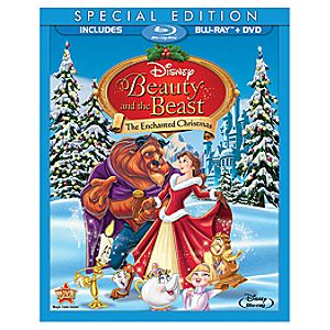 Pre-Order 2-Disc Beauty and the Beast: The Enchanted Christmas Special Edition Blu-ray Combo Pack (Blu-ray Amaray)