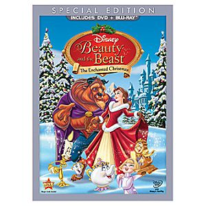 Pre-Order 2-Disc Beauty and the Beast: The Enchanted Christmas Special Edition Blu-ray Combo Pack (Blu-ray + DVD in DVD Amaray)