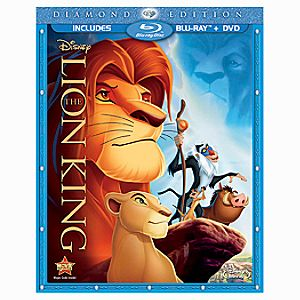 Diamond Edition 2-Disc The Lion King Blu-ray Combo Pack (in Blu-ray Amaray case)