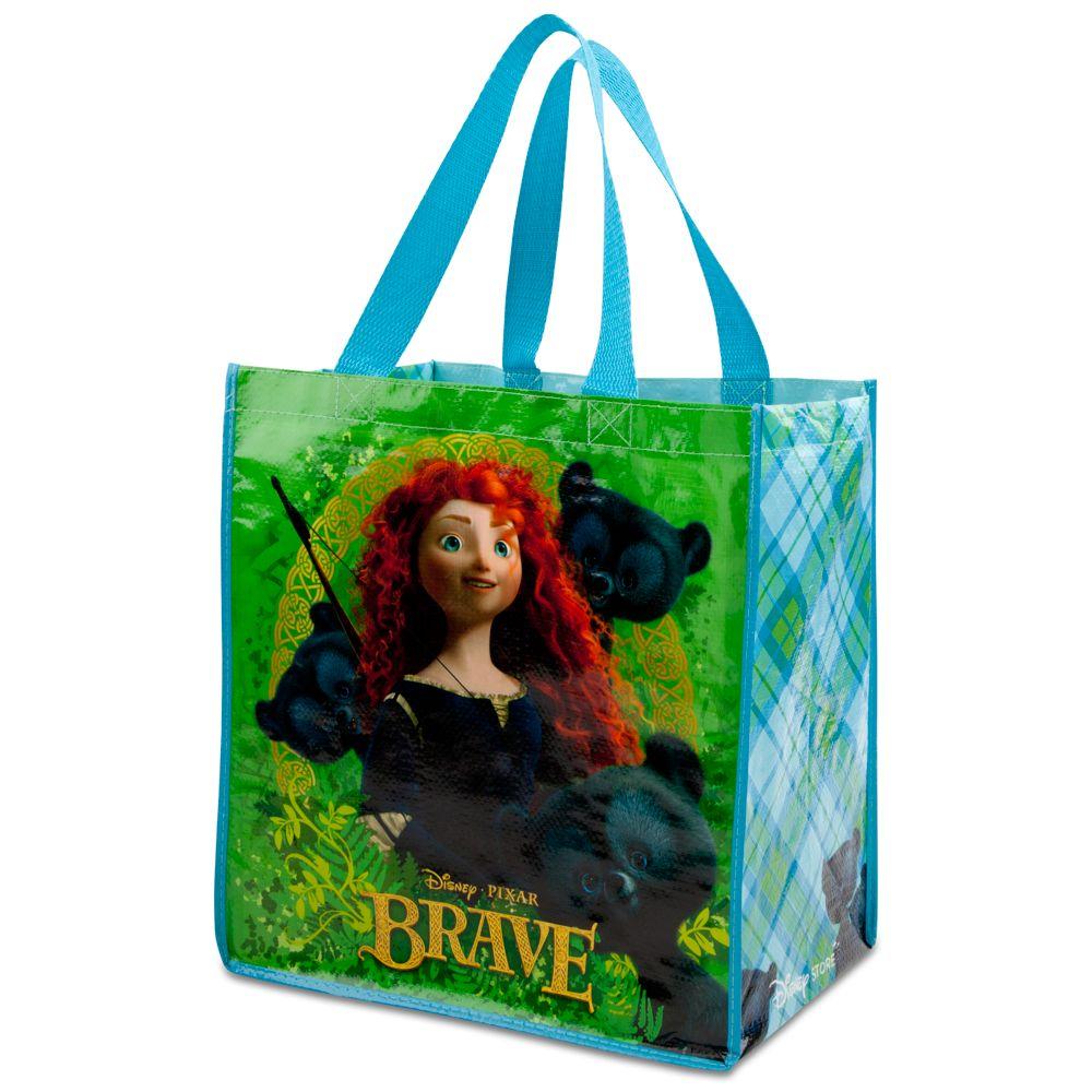 Merida Brave Reusable Tote Bag Nwt Disney Store Scottish