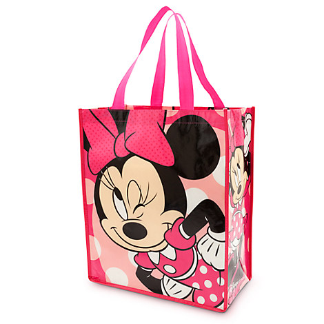 Minnie Mouse Ears style Polka dots Cosmetic bag Disney Mickey and Minnie Mouse Character 12 Premium Quality Party Favor Reusable Goodie Small Gift Bags by Mickey & Minnie Mouse.