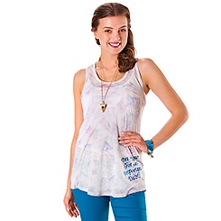Alice in Wonderland Tank Tee for Women