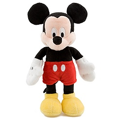 Mickey Mouse Plush - Mini Bean Bag - 9''
