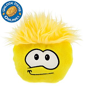 Club Penguin 6 Yellow Pet Puffle