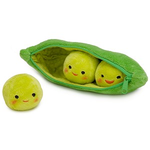 Toy Story 3 Peas-in-a-Pod Plush Toy -- 8''