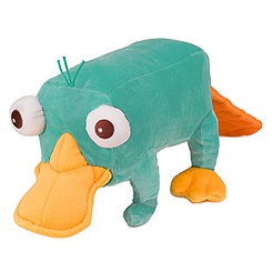Perry Plush -Talking  - 13''