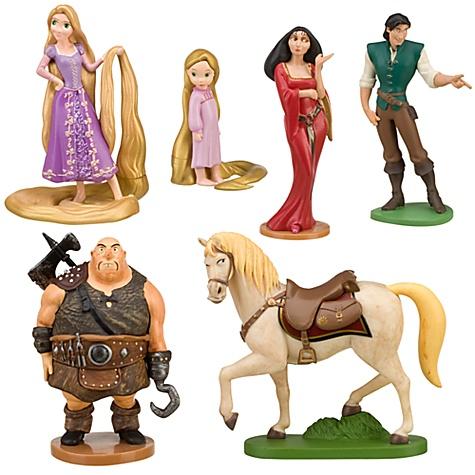 Tangled Figurine Set