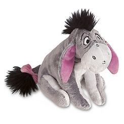 Eeyore Plush -  Mini Bean Bag - 7''