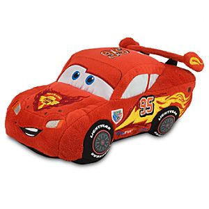Cars 2 Lightning McQueen Plush -- 8