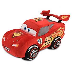Cars 2 Lightning McQueen Plush -- 13