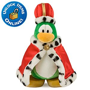 Club Penguin 9 Penguin Plush -- King Roi
