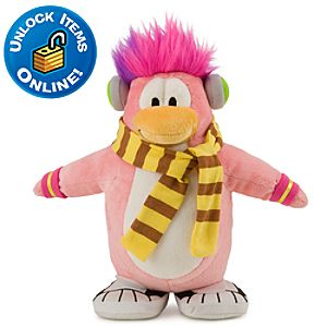 Club Penguin 9 Penguin Plush -- Cadence