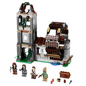 The Mill Pirates of the Caribbean Lego Play Set