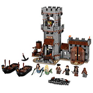 Whitecap Bay Pirates of the Caribbean Lego Play Set