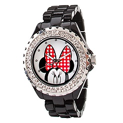 Pavé Crystal Minnie Mouse Watch