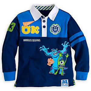 Monsters University Rugby Shirt for Boys