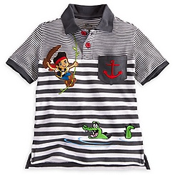 Jake and the Never Land Pirates Polo Shirt for Boys