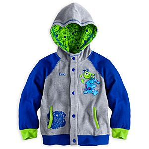 Monsters University Hoodie for Boys - Personalized