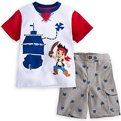 Jake and the Never Land Pirates Short Set for Boys
