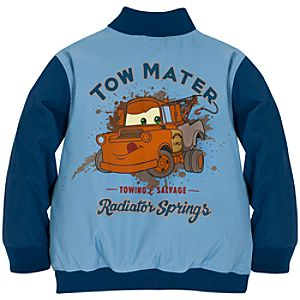 Personalizable Tow Mater Varsity Jacket for Boys