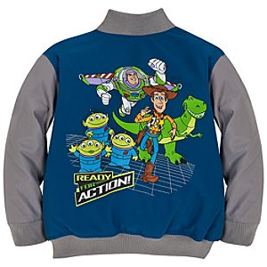 Personalizable Toy Story Varsity Jacket for Boys
