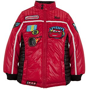 Personalizable Puffy Cars Lightning McQueen Jacket for Boys