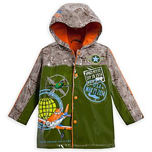 Planes Rain Jacket for Boys