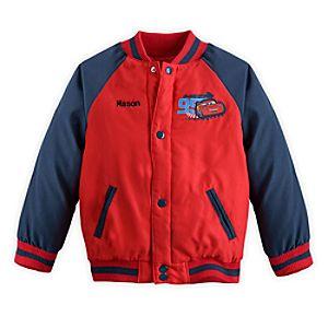 Cars Varsity Jacket for Boys - Personalizable