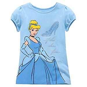 Glass Slipper Cinderella Tee for Girls