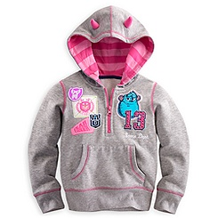 Monsters University Hoodie for Girls