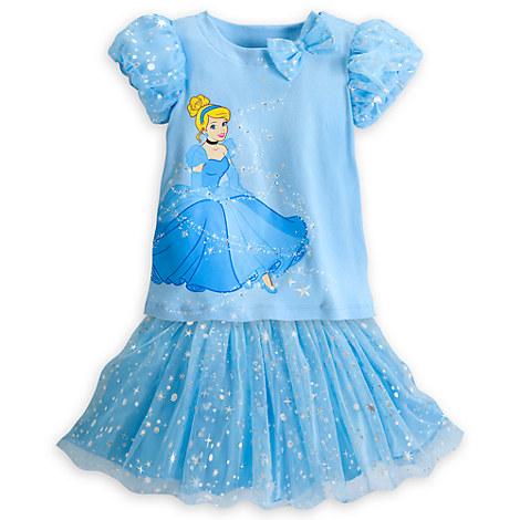Cinderella Fashion Skirt Set for Girls