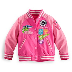 Monsters University Varsity Jacket for Girls