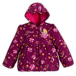Rapunzel Hooded Jacket for Girls - Personalizable