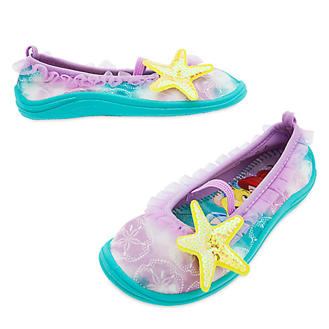 Ariel Swim Shoes for Girls