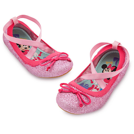 Minnie mouse ballet flat shoes for kids shoes amp socks disney store