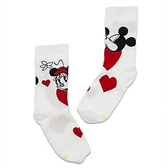 Mickey and Minnie Mouse Socks for Women