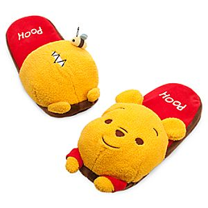 pooh bear slippers adults
