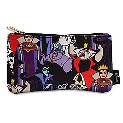 Disney Villains Pouch by Loungefly