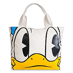Donald Duck Face & Feet Tote Bag