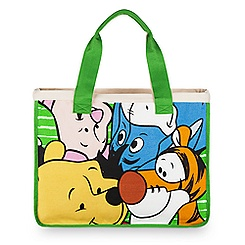 Winnie the Pooh and Friends Canvas Tote