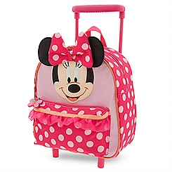 Minnie Mouse Clubhouse Rolling Luggage - Small