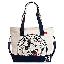Mickey Mouse Logo Tote Bag