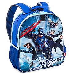 Captain America: Civil War Reversible Backpack - Personalizable