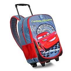 Lightning McQueen Rolling Backpack - Personalizable