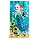 Anna and Elsa Beach Towel - Personalizable