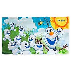 Olaf Swim Towel - Personalizable