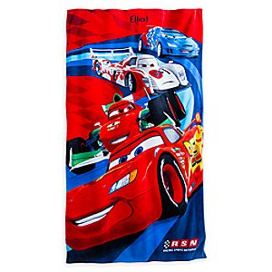 Cars Swim Towel - Personalizable