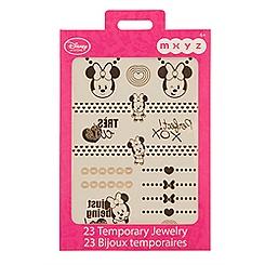 Minnie Mouse MXYZ Temporary Jewelry Pack